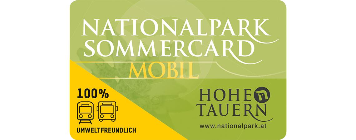 Nationalpark Sommercard inkl. Mobilität