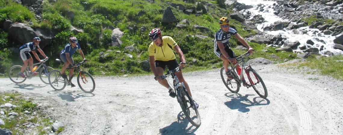 Radfahren im schönen Pinzgau